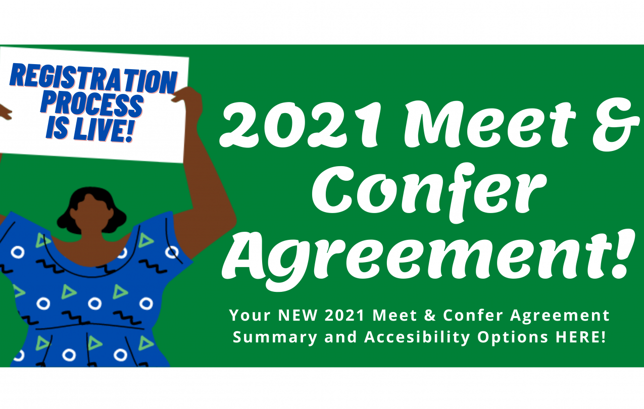 The HOPE 2021 Meet and Confer Agreement Summary and Accessibility Options HERE! Houston Organization of Public Employees Local 123
